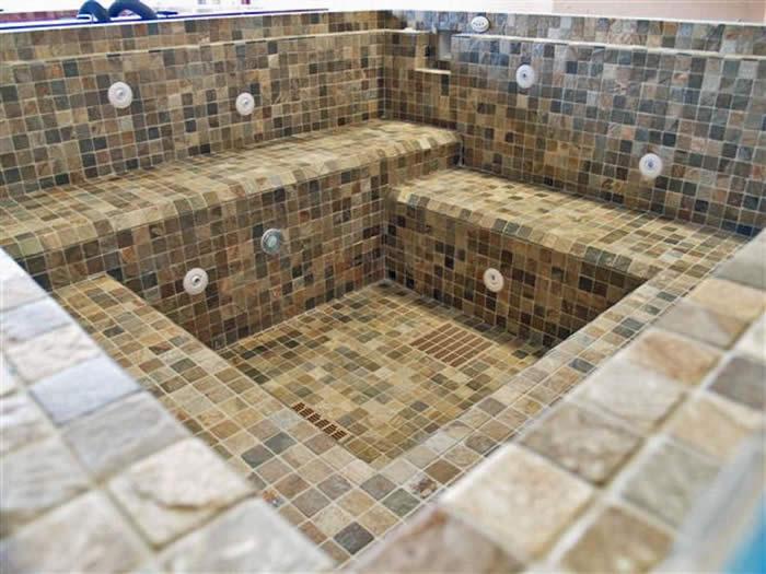 Tile Selection - NESPA Tiled Spas