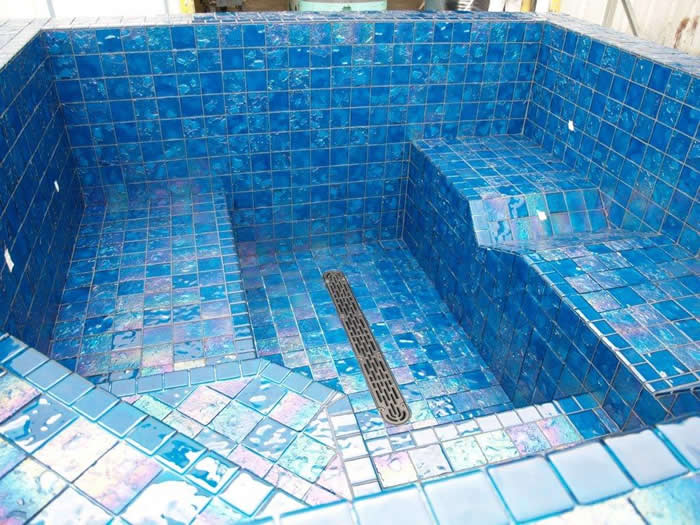 Nespa Tiled Spas